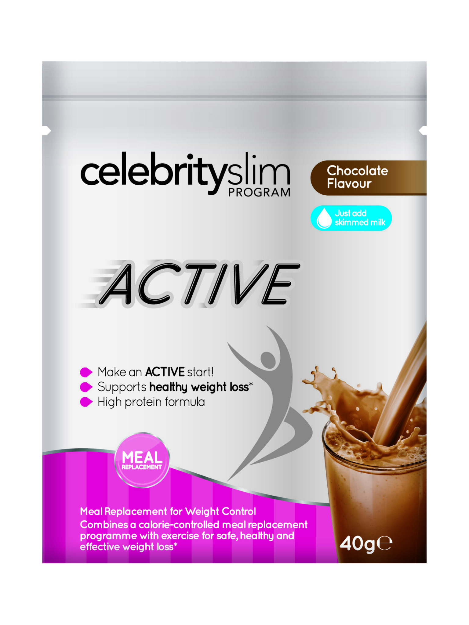 Celebrity slim active shakes and fidget